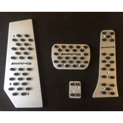 ALUMINUM PADS ON THE PEDALS for MERCEDES-BENZ E-CLASS w212 2009 up