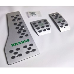 ALUMINUM PADS ON THE PEDALS FOR SMART FORTWO III 453