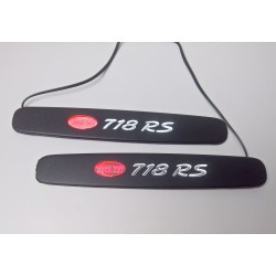 EXCLUSIVE DOOR LED SILL PLATES WITH ILLUMINATION FOR PORSCHE CAYMAN