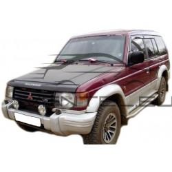 MITSUBISHI PAJERO II 1991 up HOOD PROTECTOR STONE BUG DEFLECTOR