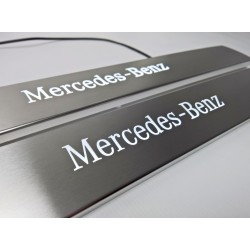 EXCLUSIVE DOOR LED SILL PLATES WITH ILLUMINATION for MERCEDES-BENZ CLS W219