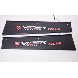 EXCLUSIVE DOOR LED SILL PLATES WITH ILLUMINATION for DODGE VIPER 2008 up