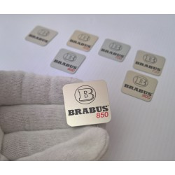BRABUS LOGO IN THE GEAR SHIFT KNOB FOR MERCEDES-BENZ G-CLASS W463