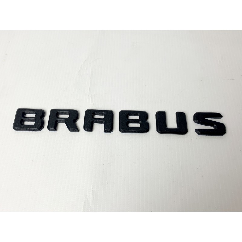 EXCLUSIVE HANDMADE LOGO style BRABUS for MERCEDES-BENZ