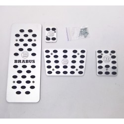 ALUMINUM PADS ON THE PEDALS LIKE BRABUS FOR MERCEDES-BENZ ML W163