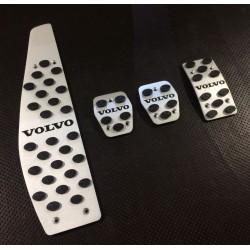 ALUMINUM PADS ON THE PEDALS...