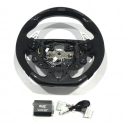 CARBON STEERING WHEEL WITH...