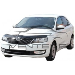 SKODA RAPID 2013 up HOOD PROTECTOR STONE BUG DEFLECTOR