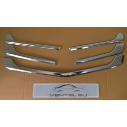 MERCEDES SPRINTER W906 LIFT 2013 up CHROME GRILLE COVERS TRIM KIT STAINLESS STEEL
