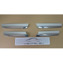MERCEDES VITO W639 LIFT 2010 up CHROME GRILLE COVERS TRIM KIT STAINLESS STEEL