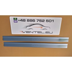 DOOR SILL PLATES FOR FIAT 500 2007 up