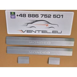 DOOR SILL PLATES FOR FORD MONDEO IV 2007 up