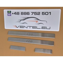 DOOR SILL PLATES FOR HYUNDAI I20 2008 up