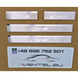 DOOR SILL PLATES FOR MAZDA CX-5 2012 up