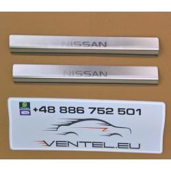 DOOR SILL PLATES FOR NISSAN PRIMASTAR 2001 up