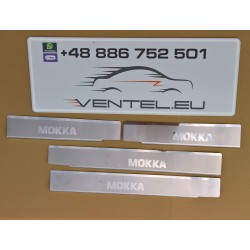 DOOR SILL PLATES FOR VAUXHALL MOKKA 2012 up