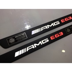 EXCLUSIVE DOOR LED SILL PLATES WITH ILLUMINATION FOR MERCEDES E-CLASS W212 2009 up