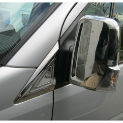 CHROME COVER TRIANGLE FOR VOLKSWAGEN CRAFTER 2006 up