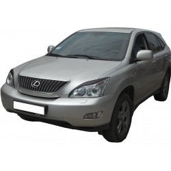 EYELID EYEBROW HEADLIGHT COVER FIT FOR LEXUS RX 2003 up