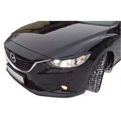 EYELID EYEBROW HEADLIGHT COVER FIT FOR MAZDA 6 GJ 2012 UP