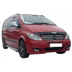 MERCEDES VITO W639 2003 up CHROME GRILLE COVERS TRIM KIT STAINLESS STEEL