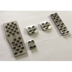 ALUMINUM PADS ON THE PEDALS MANUAL TRANSMISSION FOR MERCEDES-BENZ