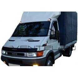 IVECO DAILY 2000 up HOOD PROTECTOR STONE BUG DEFLECTOR
