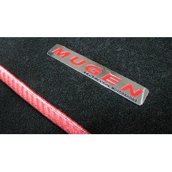 EXCLUSIVE HANDMADE LOGO IN THE CAR MAT FOR HONDA MUGEN