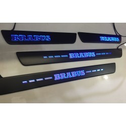 EXCLUSIVE DOOR LED SILL PLATES WITH ILLUMINATION FOR MERCEDES-BENZ GLE, GLE COUPE