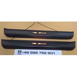 EXCLUSIVE DOOR LED SILL PLATES WITH ILLUMINATION STYLE PRIOR DESIGN FOR BMW 6 F12 F13