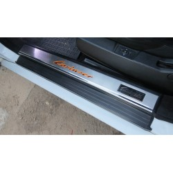 EXCLUSIVE DOOR LED SILL PLATES WITH ILLUMINATION FOR MERCEDES-BENZ S-CLASS W140