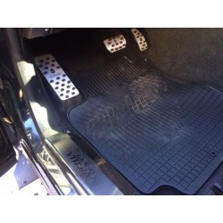 ALUMINUM PADS ON THE PEDALS FOR SUZUKI GRAND VITARA 2005 up