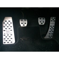 ALUMINUM PADS ON THE PEDALS FOR HONDA CIVIC 8 2006 up