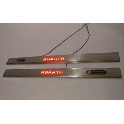 EXCLUSIVE DOOR LED SILL PLATES WITH ILLUMINATION FOR BMW 5 E39