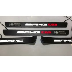 EXCLUSIVE DOOR LED SILL PLATES WITH ILLUMINATION FOR MERCEDES-BENZ C-CLASS W205