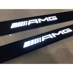 EXCLUSIVE DOOR LED SILL PLATES WITH ILLUMINATION for MERCEDES E-CLASS COUPE C238