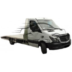 MERCEDES SPRINTER W906 LIFT 2013 up HOOD PROTECTOR STONE BUG DEFLECTOR