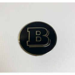 EXCLUSIVE HANDMADE REAR BADGE LOGO EMBLEM style BRABUS for SMART