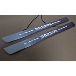 EXCLUSIVE DOOR LED SILL PLATES WITH ILLUMINATION for MERCEDES-BENZ A-CLASS W176