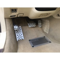 ALUMINUM PADS ON THE PEDALS for LEXUS SC 430 2001 up