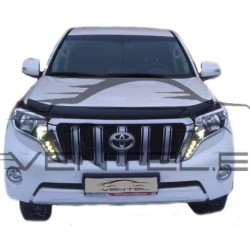 TOYOTA LAND CRUISER PRADO 150 LIFT 2013 up HOOD PROTECTOR STONE BUG DEFLECTOR